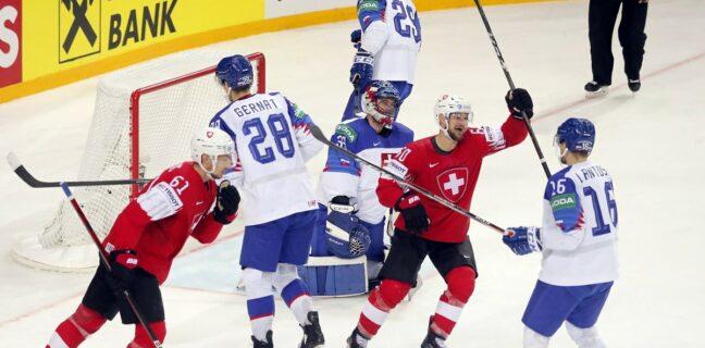 IIHF: Slovensko vs. Švýcarsko