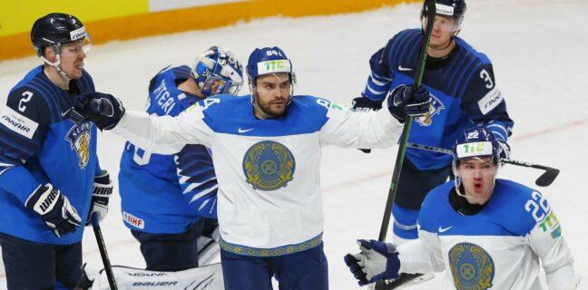 IIHF: Finsko vs. Kazachstán