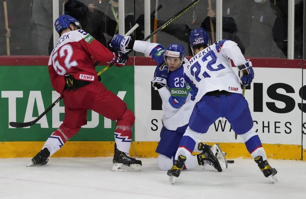 IIHF: Česko vs. Slovensko