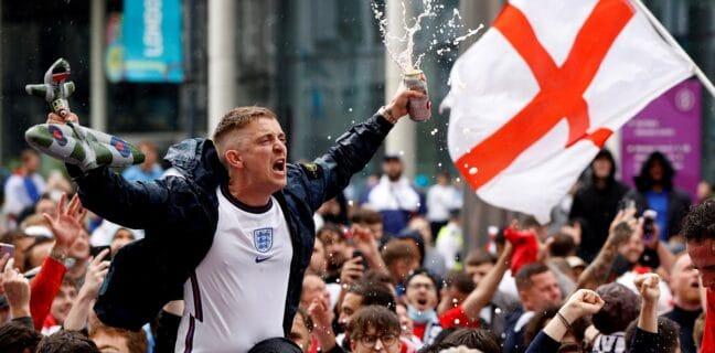 Fanoušci Anglie