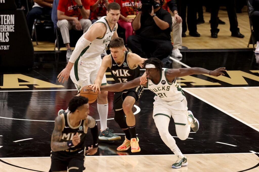 NBA: Hawks vs. Bucks