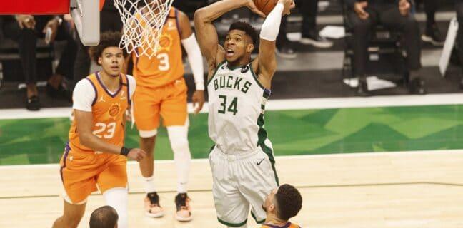 NBA: Bucks vs. Suns
